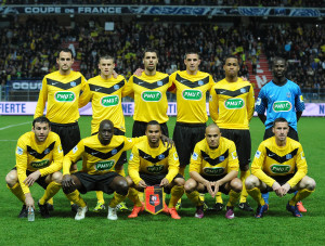 FOOTBALL : Quevilly vs Rennes - Coupe de France - 11/04/2012